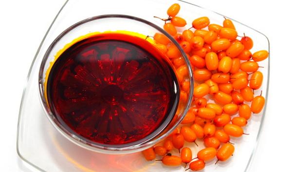 Оранжевые ягоды