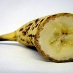 Фото разрезанного банана