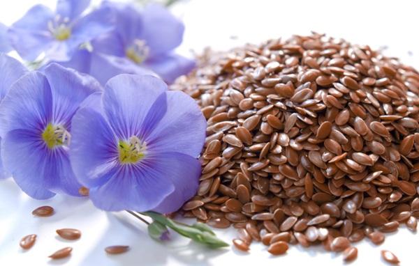 Семена льна для кожи