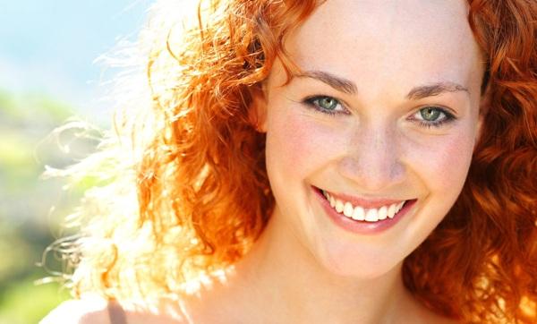 Солнце в рыжих волосах