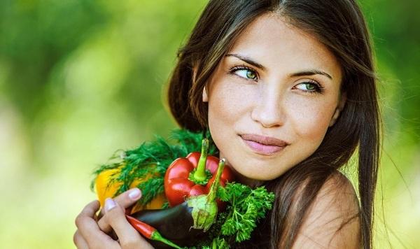 Польза овощей для лица