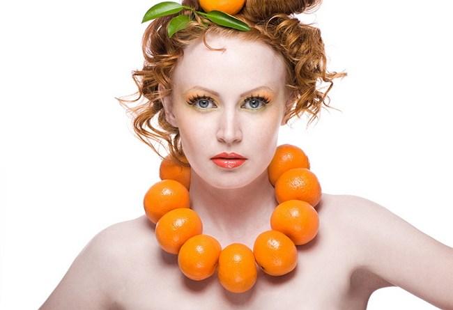 Оранжевое ожерелье
