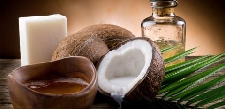 Заставка кокосовое масло