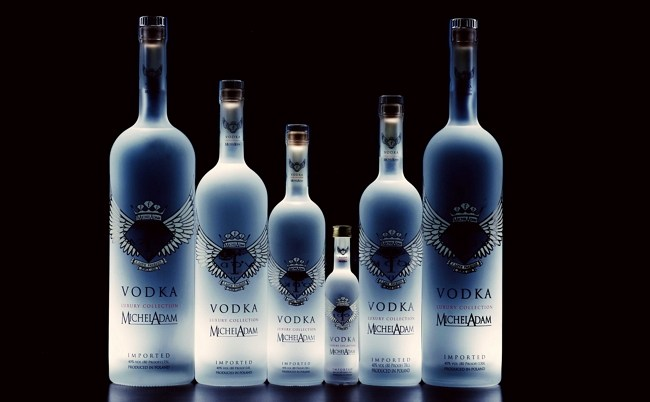 Ряд из бутылок