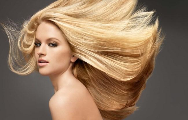 Развевающиеся волосы