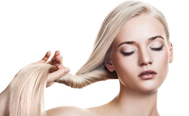 Жгут блондинистых волос