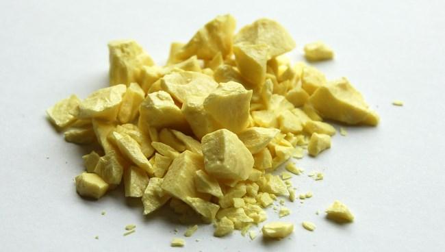 Желтые гранулы