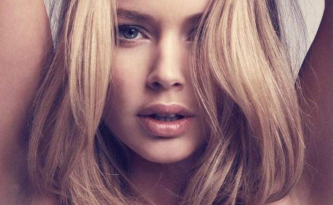 Волны блондинки