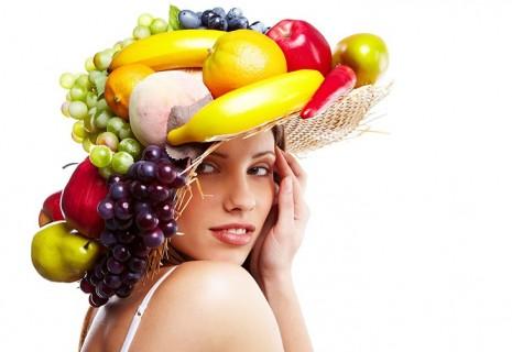 Шляпа из фруктов