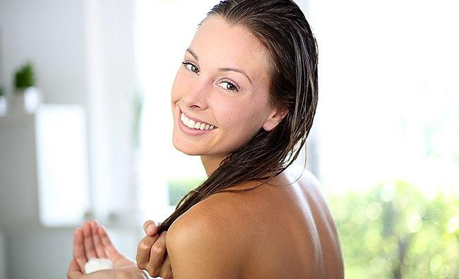 Нанесение крема