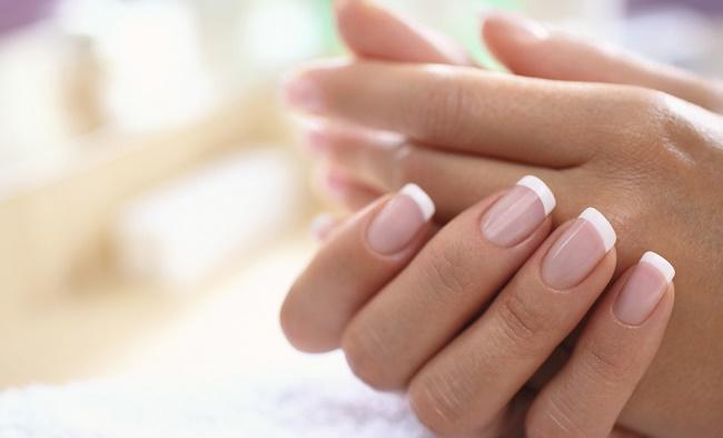 Соль для ногтей ванночка