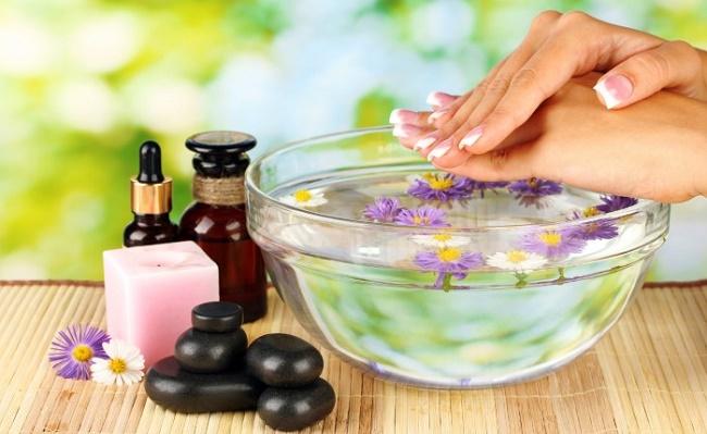 Цветочная ванночка