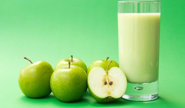 Яблоки и молоко