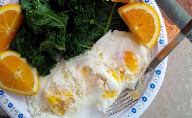 Яичница с апельсинами