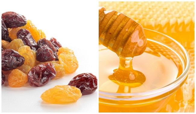 Изюм и мед