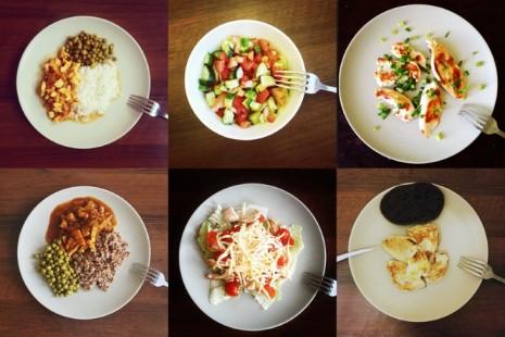 6 тарелок