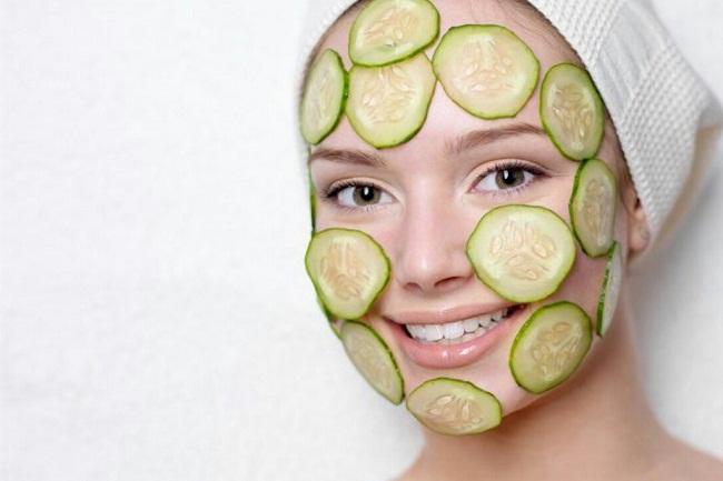 Огуречная маска