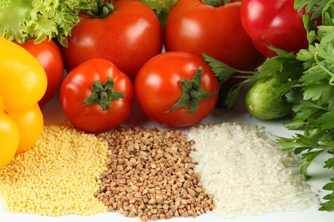 Овощи и крупы