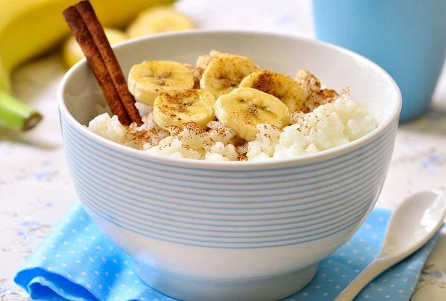 Рис с бананами