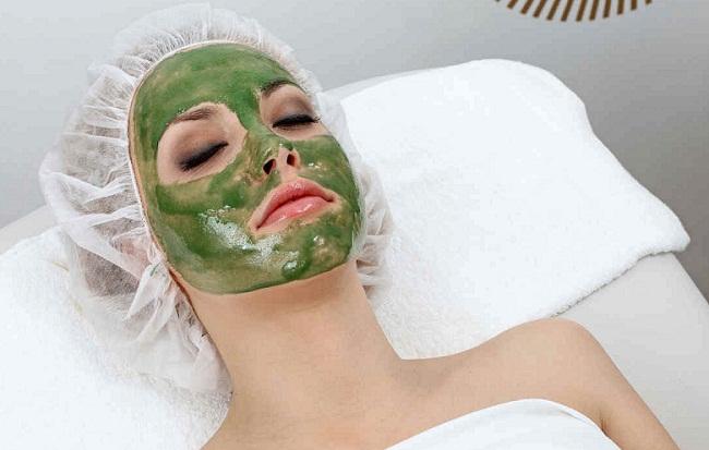 маска с водорослями